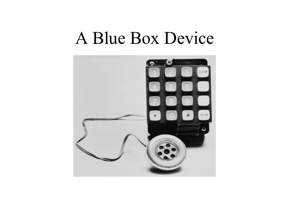 A Blue Box Device
