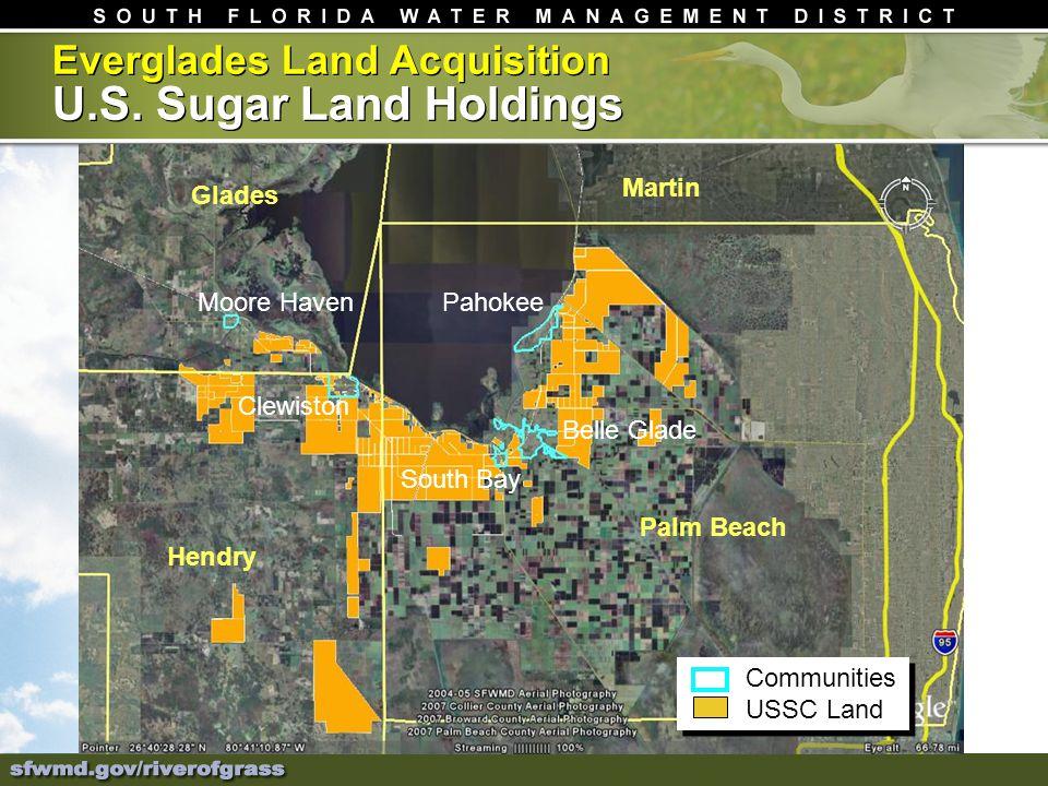 Everglades Land Acquisition U.S.