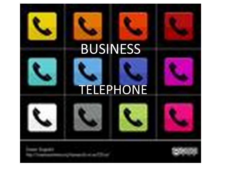 TELEPHONE BUSINESS