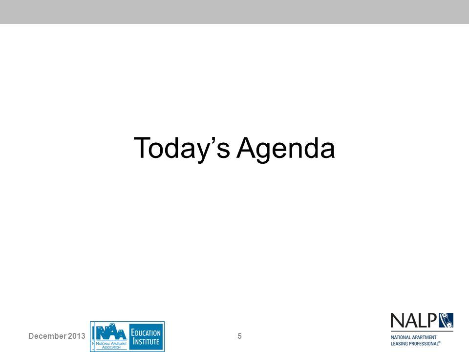 Todays Agenda 5December 2013