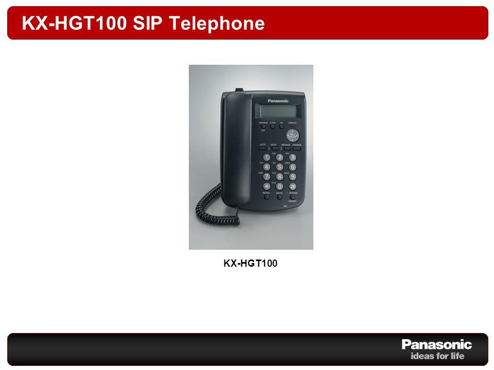 KX-HGT100 SIP Telephone KX-HGT100