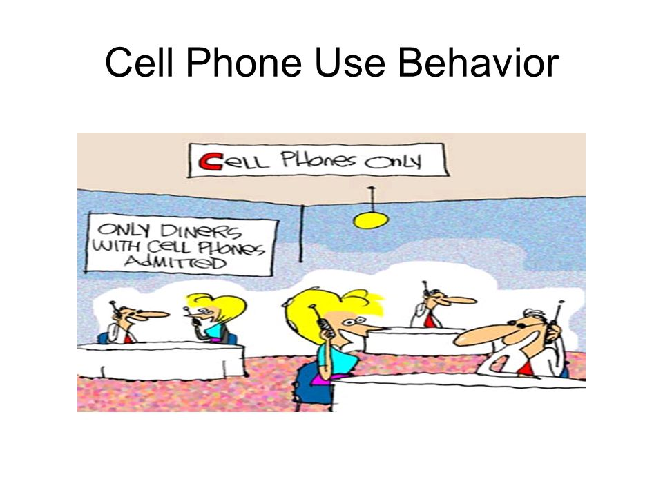 Cell Phone Use Behavior