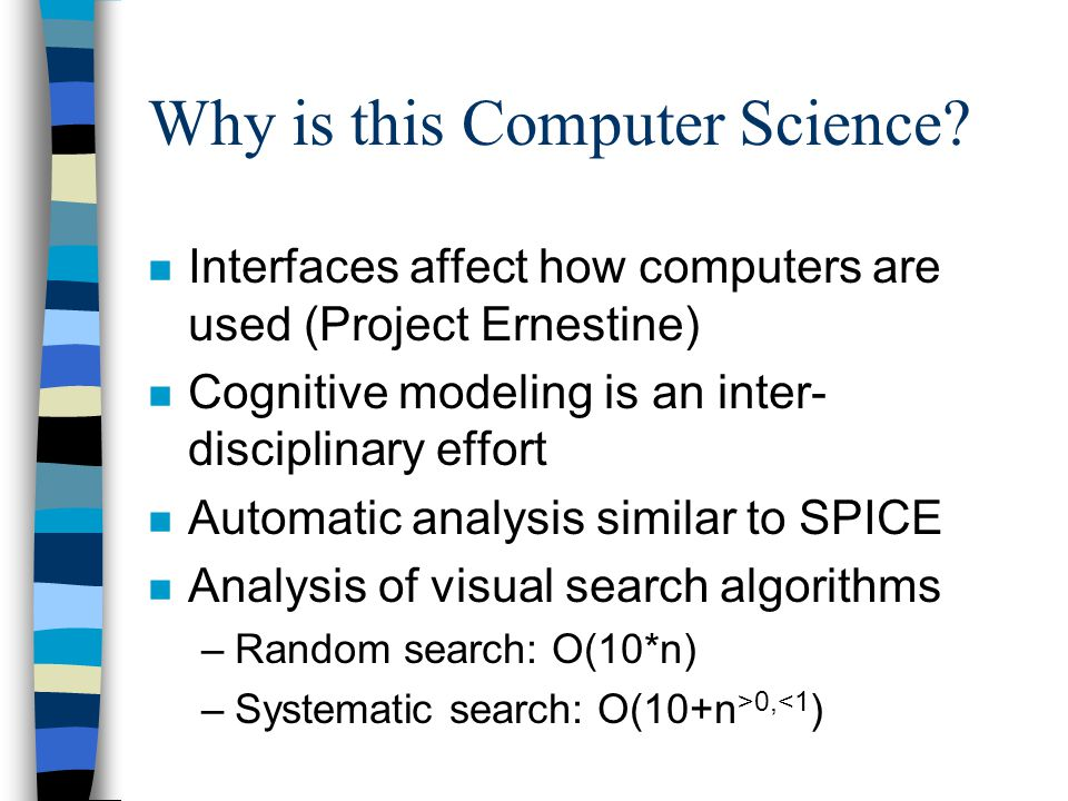 Why is this Computer Science.