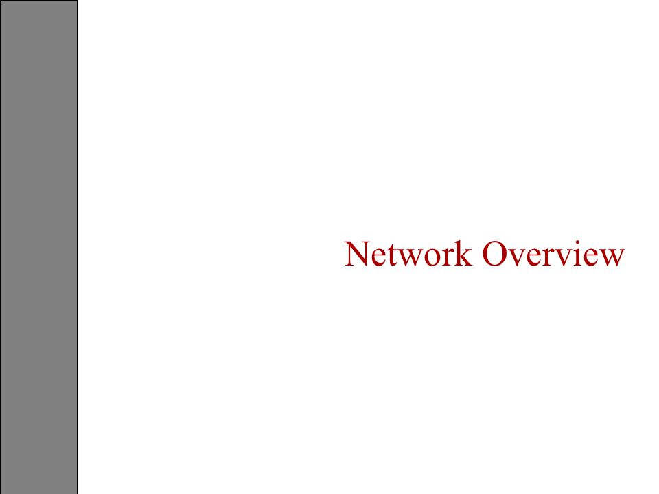 What Is A Network ? Switching Office CPE Transmission Facilities Switching Office