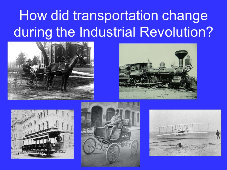 The nations new transportation system provided by the transcontinental railroad shipped raw materials to cities where manufacturers changed the raw materials into consumer products and then shipped those products to people throughout the country.