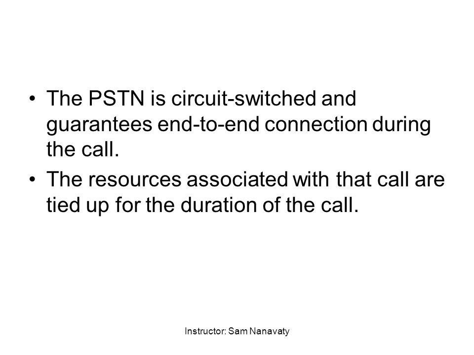 Instructor: Sam Nanavaty Warren Hioki Telecommunications, Fourth Edition Copyright ©2001 by Prentice-Hall, Inc.