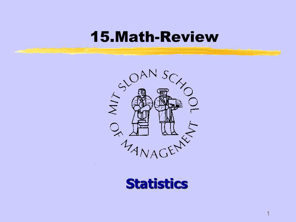 15.Math-Review12 zTo fix notation: yn will be our random sample size.