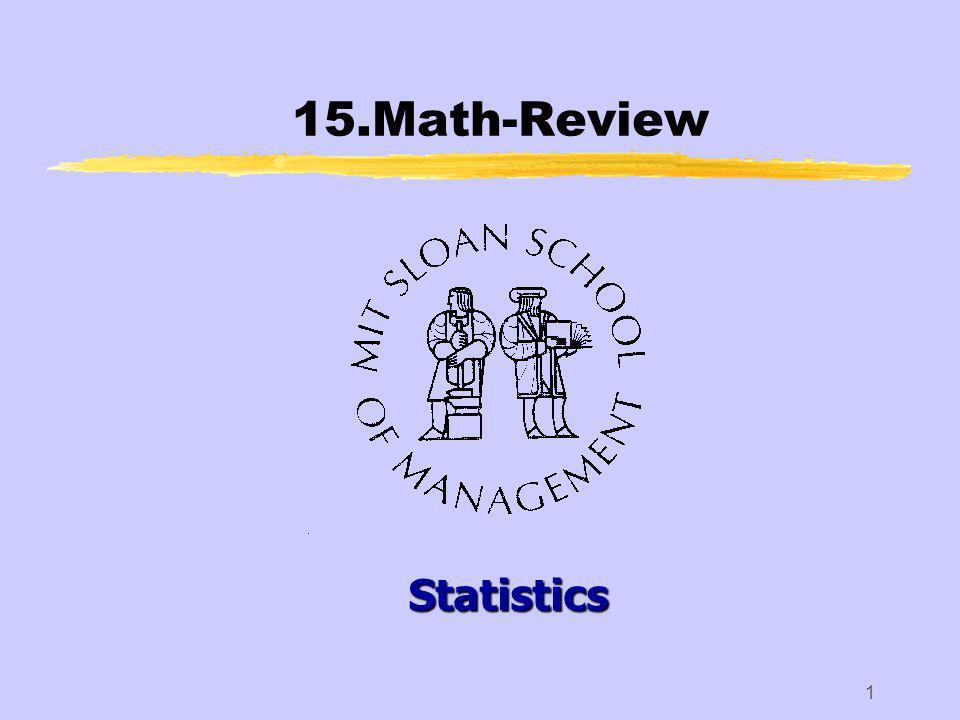 1 15.Math-Review Statistics