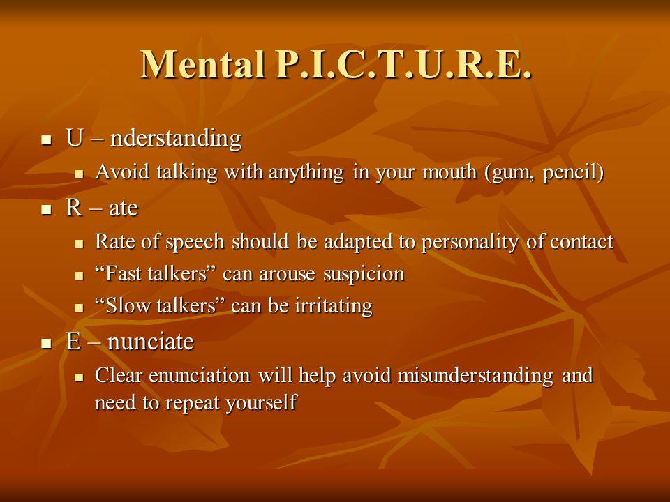 Mental P.I.C.T.U.R.E.