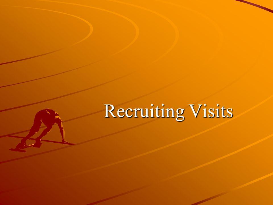 Recruiting Visits