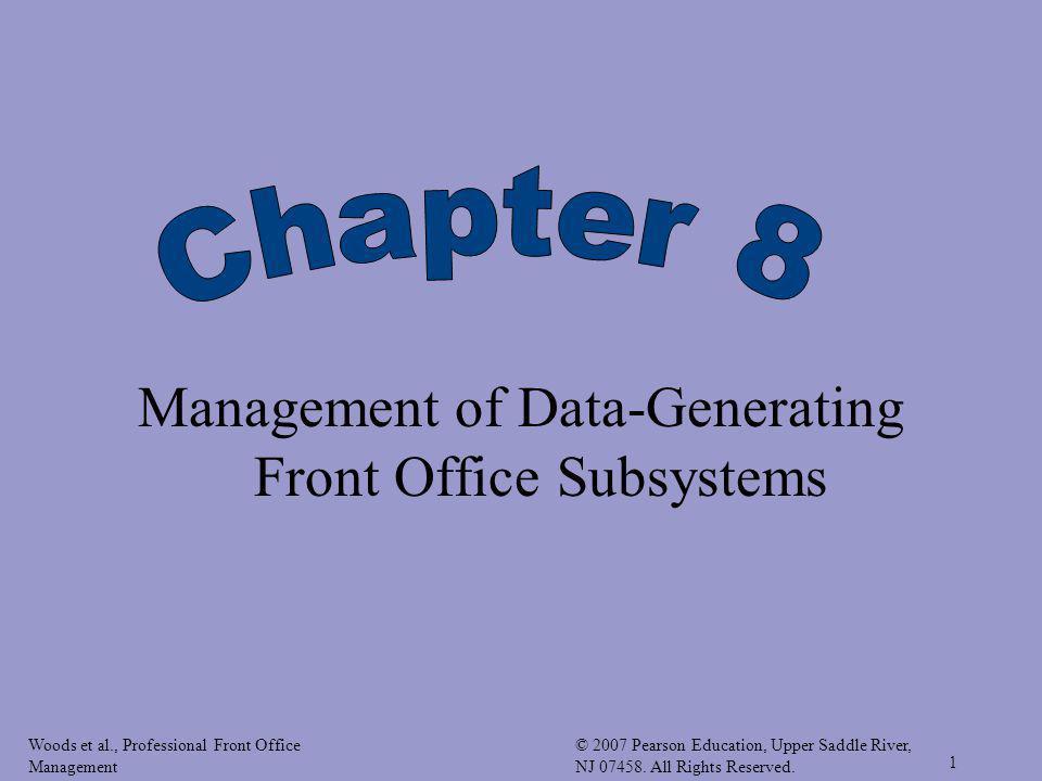 Woods et al., Professional Front Office Management © 2007 Pearson Education, Upper Saddle River, NJ 07458.