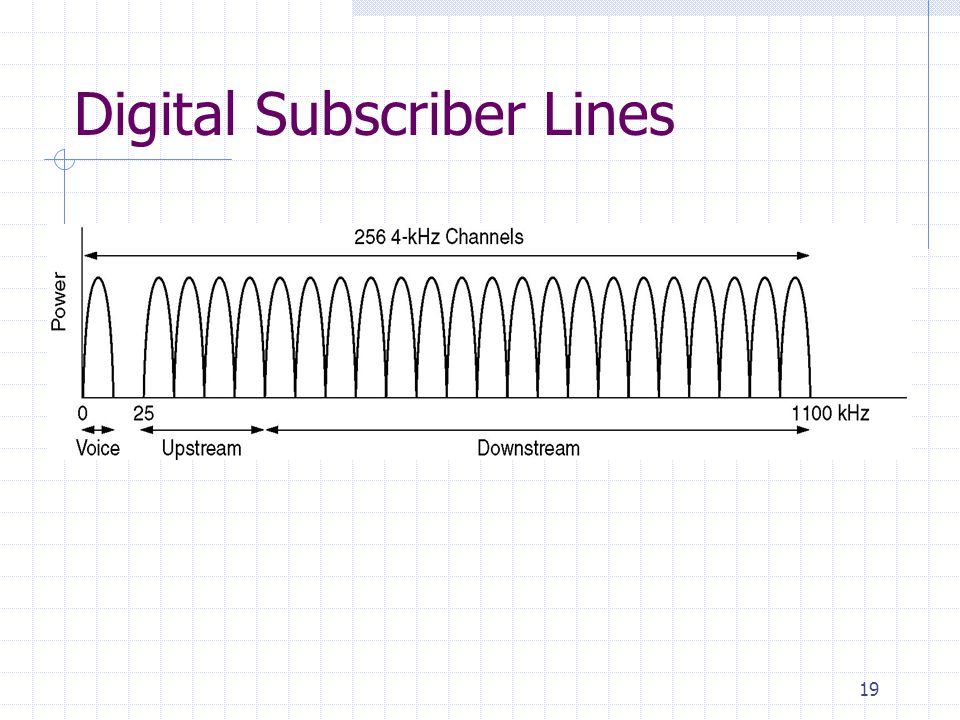 19 Digital Subscriber Lines