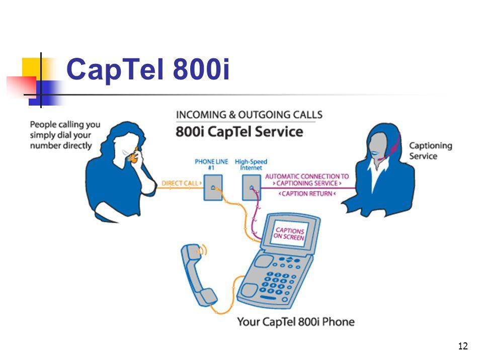 12 CapTel 800i