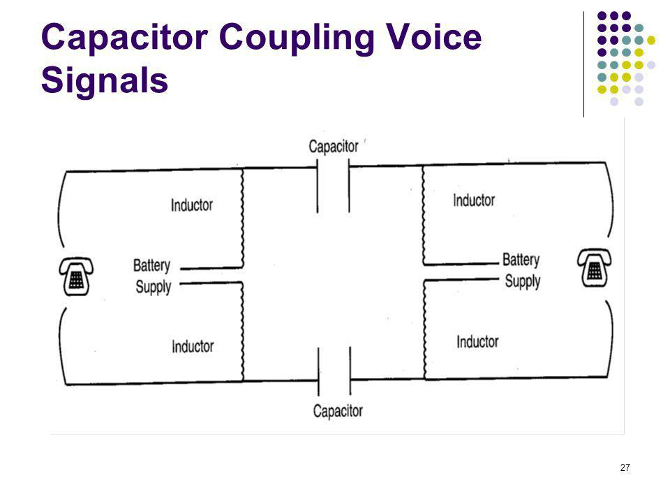 27 Capacitor Coupling Voice Signals