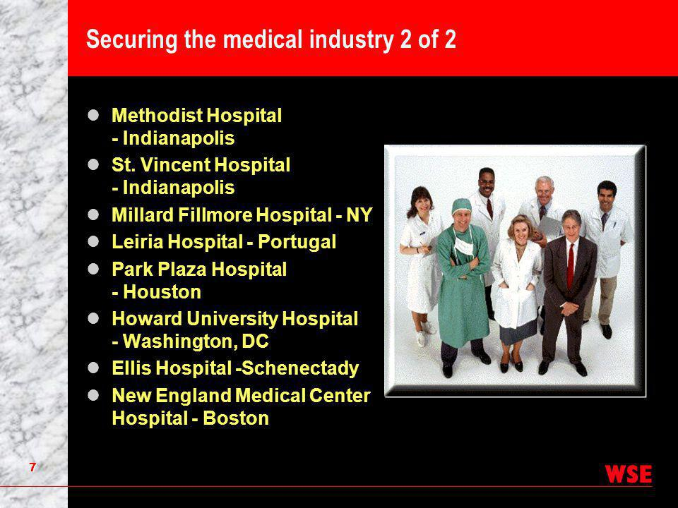 7 Securing the medical industry 2 of 2 Methodist Hospital - Indianapolis St.
