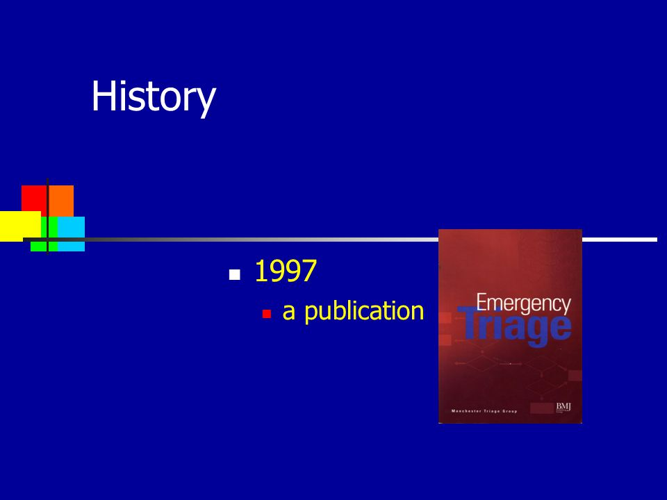 History 1997 a publication
