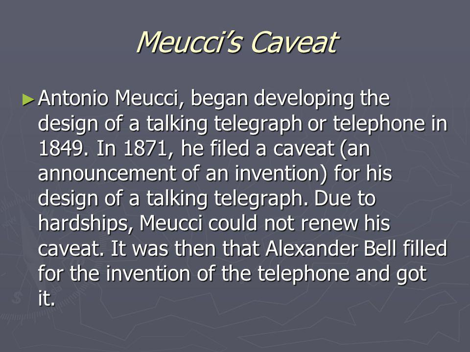 Importance Meuccis invention of the practical telephone sparked a new era of modern communication.