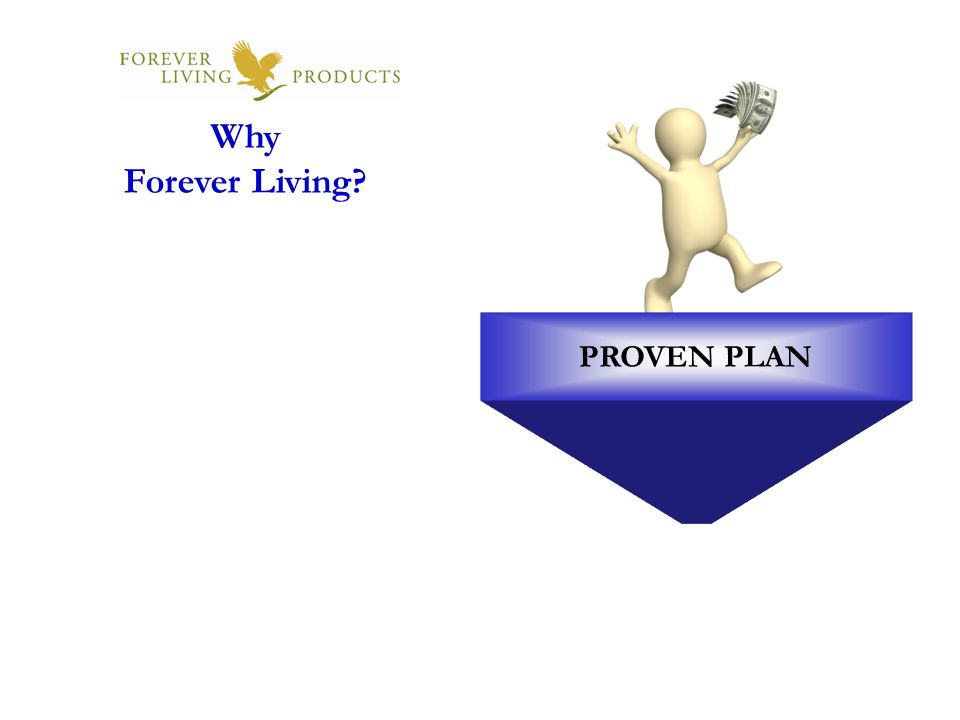 PROVEN PLAN Why Forever Living?