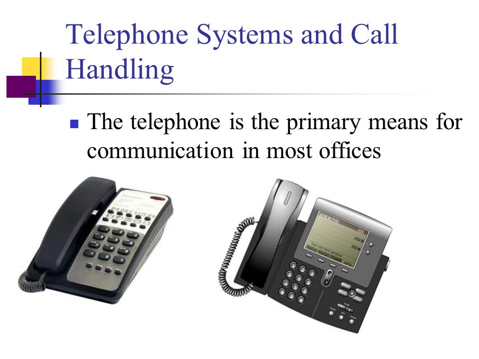 Office Communication Equipment Business communication equipment Telephones Facsimile (fax) machines Computers Photocopiers Technology today allows for