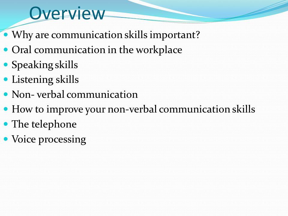 Non Verbal Communication Presentation Non Verbal Communication