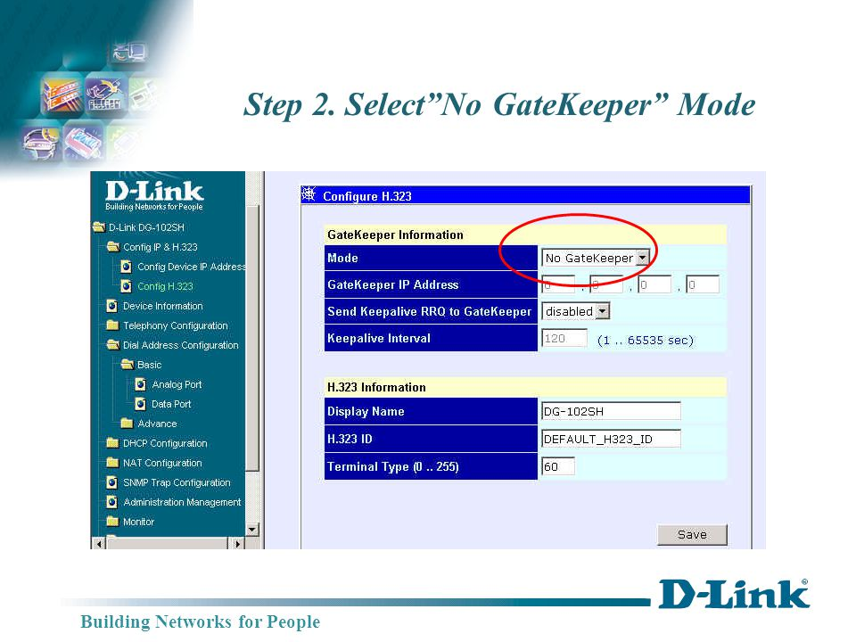 Building Networks for People Step 3. Setup Tcid Telephone Numbers