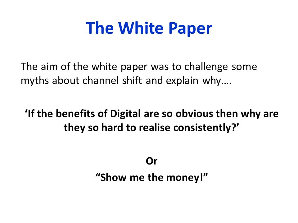 Channel Costs Everything should be made as simple as possible, but not one bit simpler.