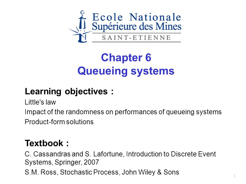 2 Plan Introduction Classification of queueing systems Little s law Single stage queuing systems Queuing networks