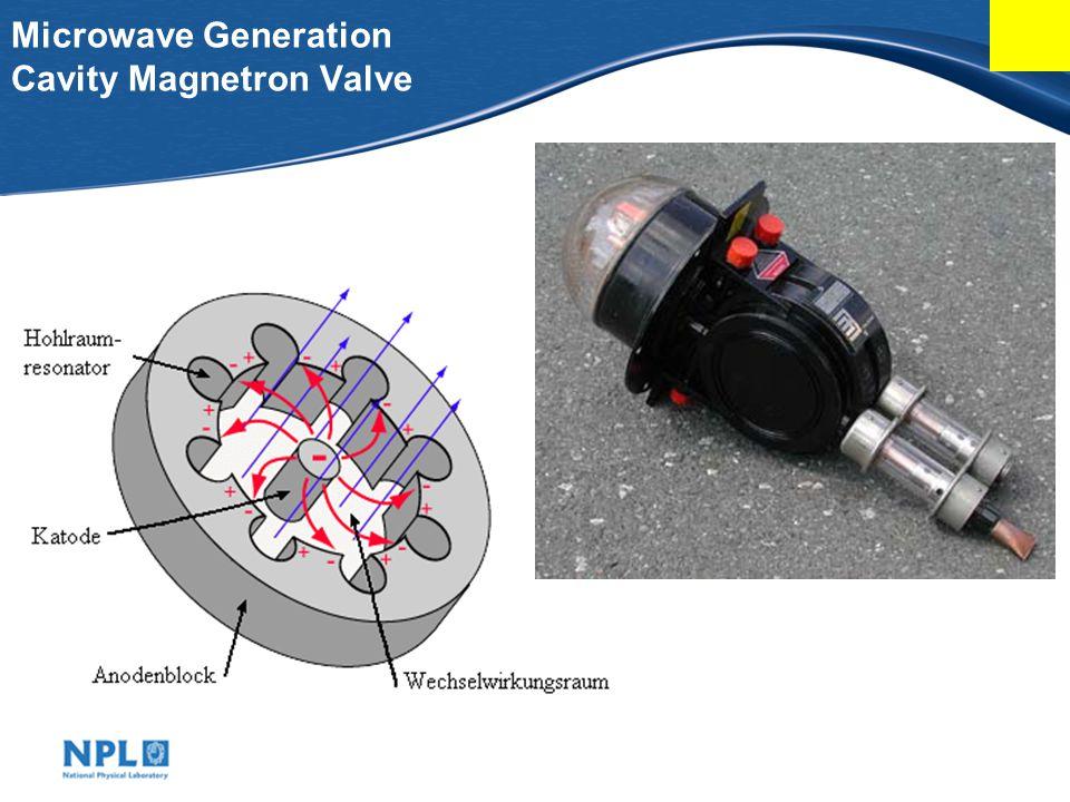 Microwave Generation Cavity Magnetron Valve
