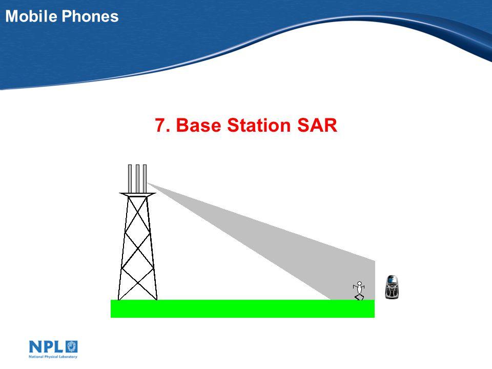 Mobile Phones 7. Base Station SAR
