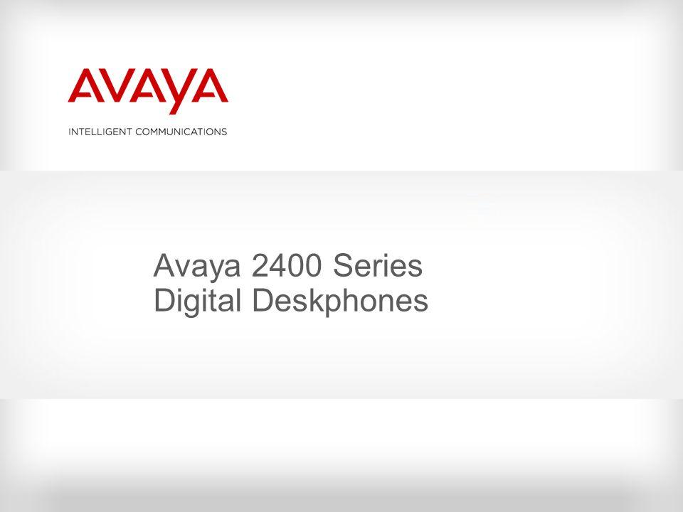 Avaya 2400 Series Digital Deskphones