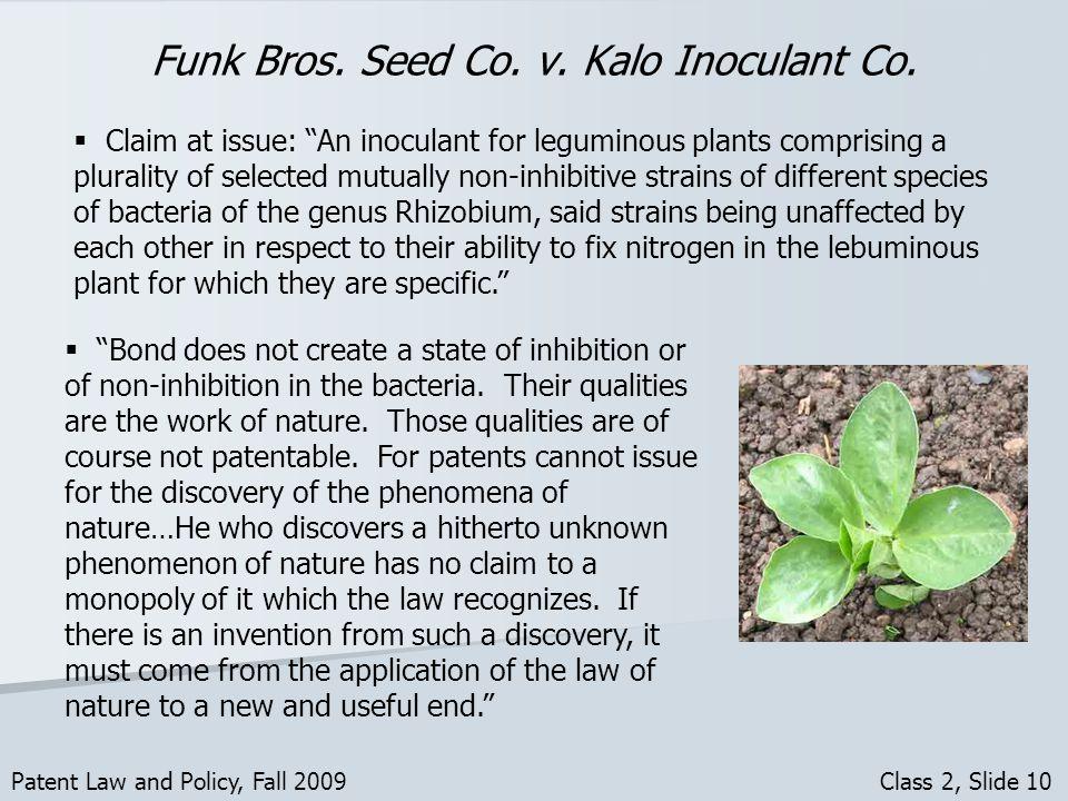 Funk Bros. Seed Co. v. Kalo Inoculant Co.