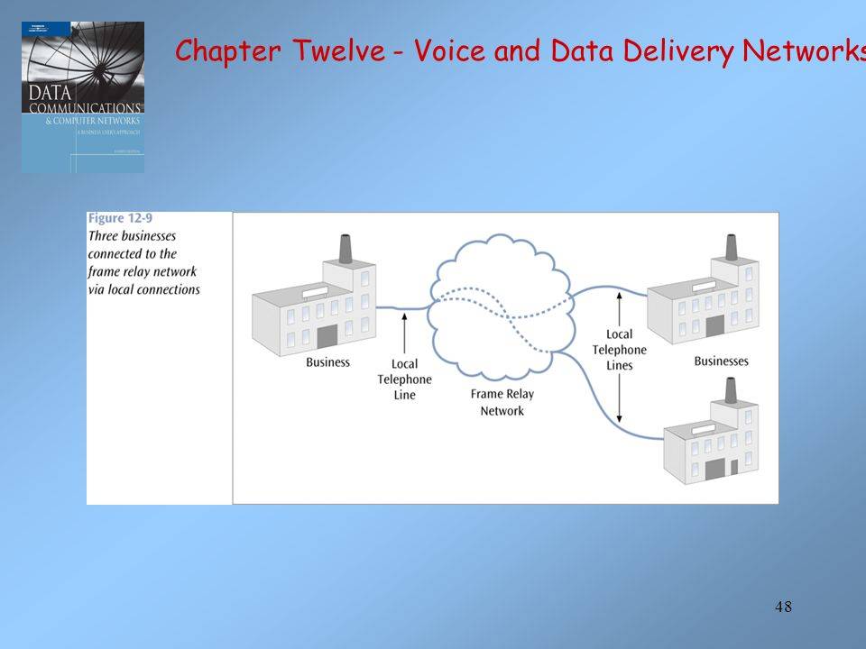 48 Chapter Twelve - Voice and Data Delivery Networks