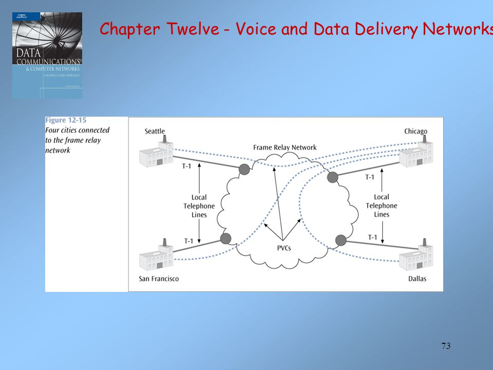 73 Chapter Twelve - Voice and Data Delivery Networks