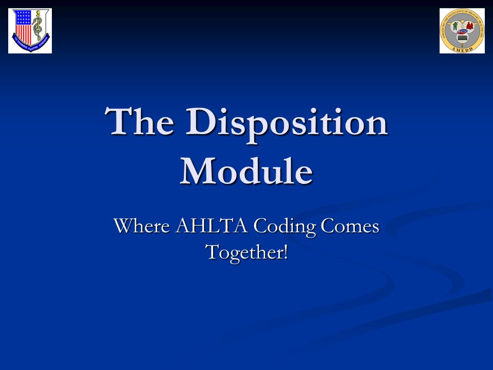 The Disposition Page is Crucial To Accurate Coding 1)Document here if you spent >50% of the total appointment time counseling, educating or coordinating care.