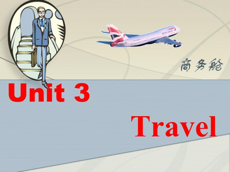 Unit 3 Travel