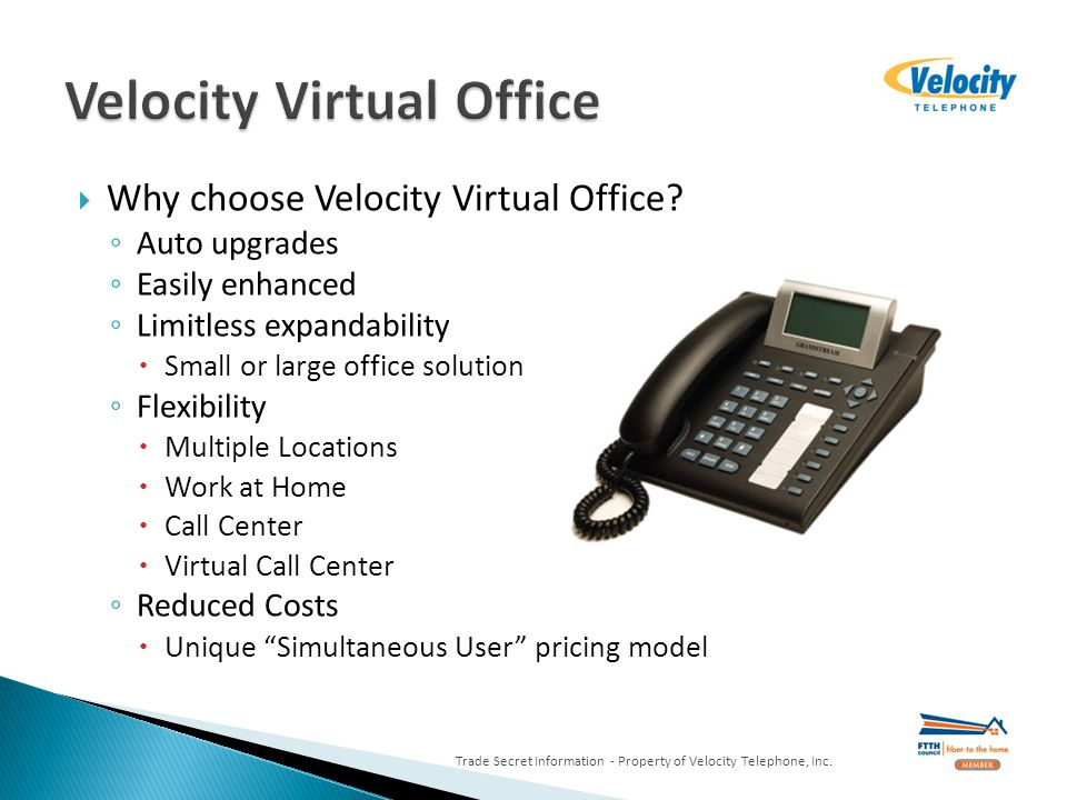 Why choose Velocity Virtual Office.