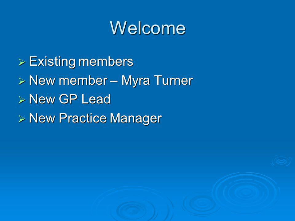 Agenda Welcome & introductions Welcome & introductions Whats new & planned at Waterloo Medical Group Whats new & planned at Waterloo Medical Group Patient Survey Questionnaire 2013 Patient Survey Questionnaire 2013 Your issues / concerns .