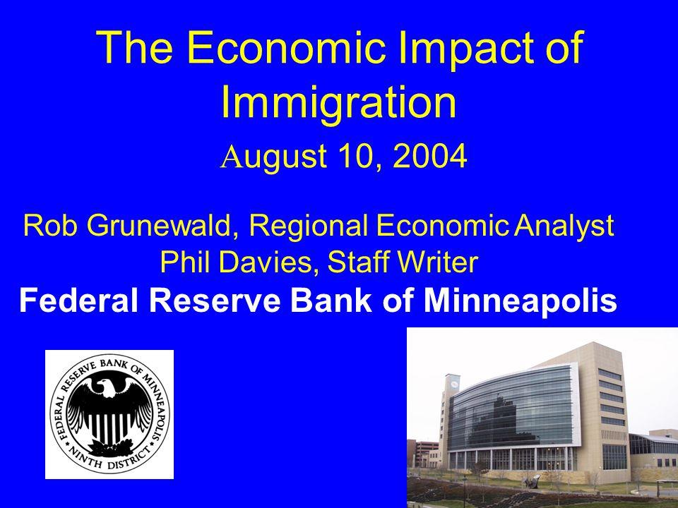 Population Growth, 1990-2000 Minnesota Counties