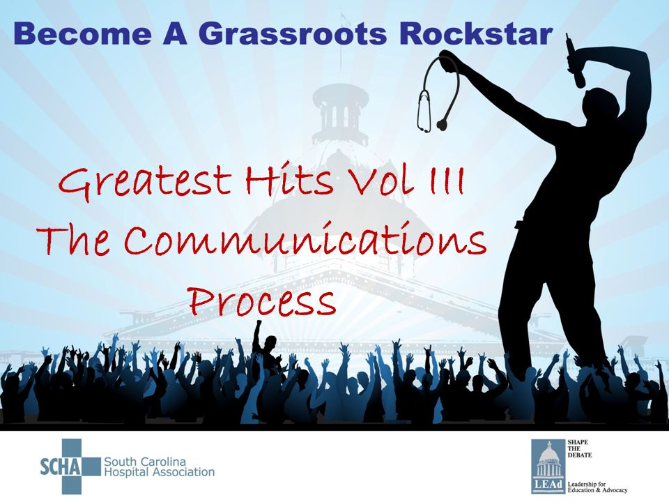 Greatest Hits Vol III The Communications Process