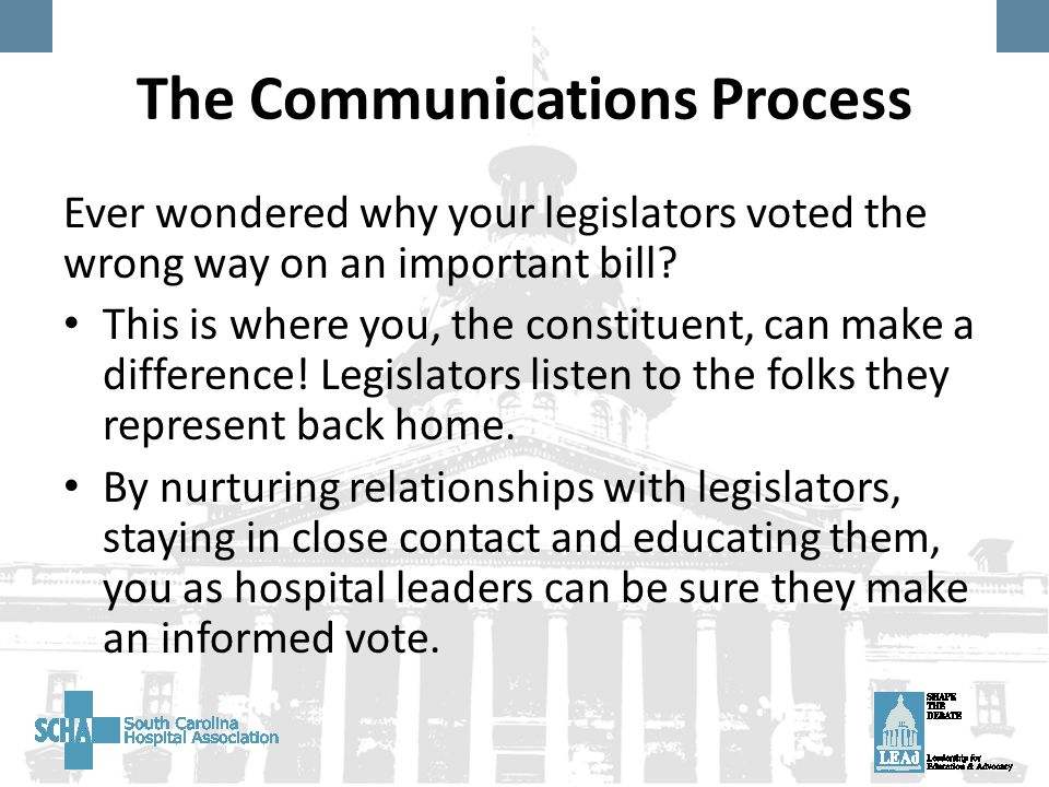 Ever wondered why your legislators voted the wrong way on an important bill.