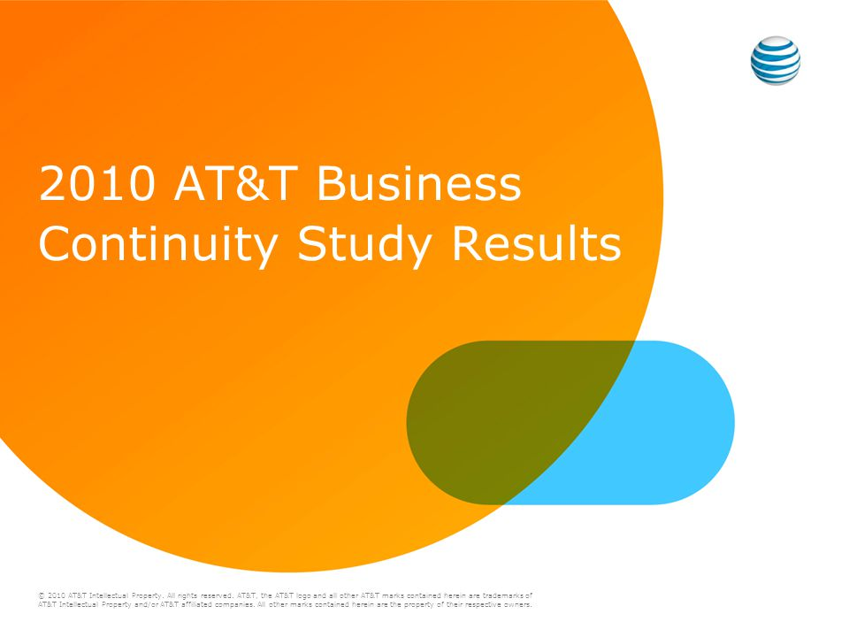 © 2010 AT&T Intellectual Property. All rights reserved.