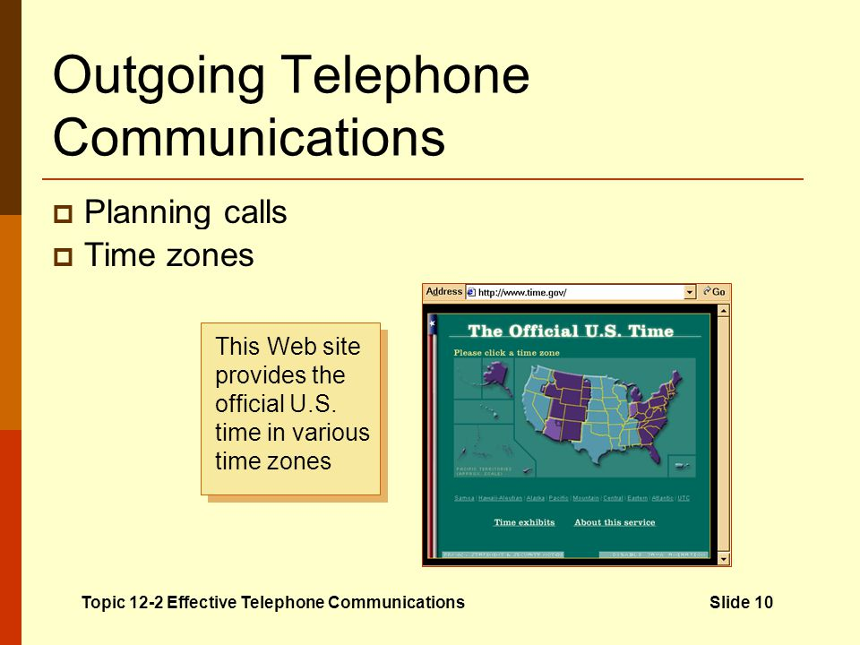 Outgoing Telephone Communications Planning calls Dates and times of meetings or events that relate to the call Documents that relate to the topic Ques