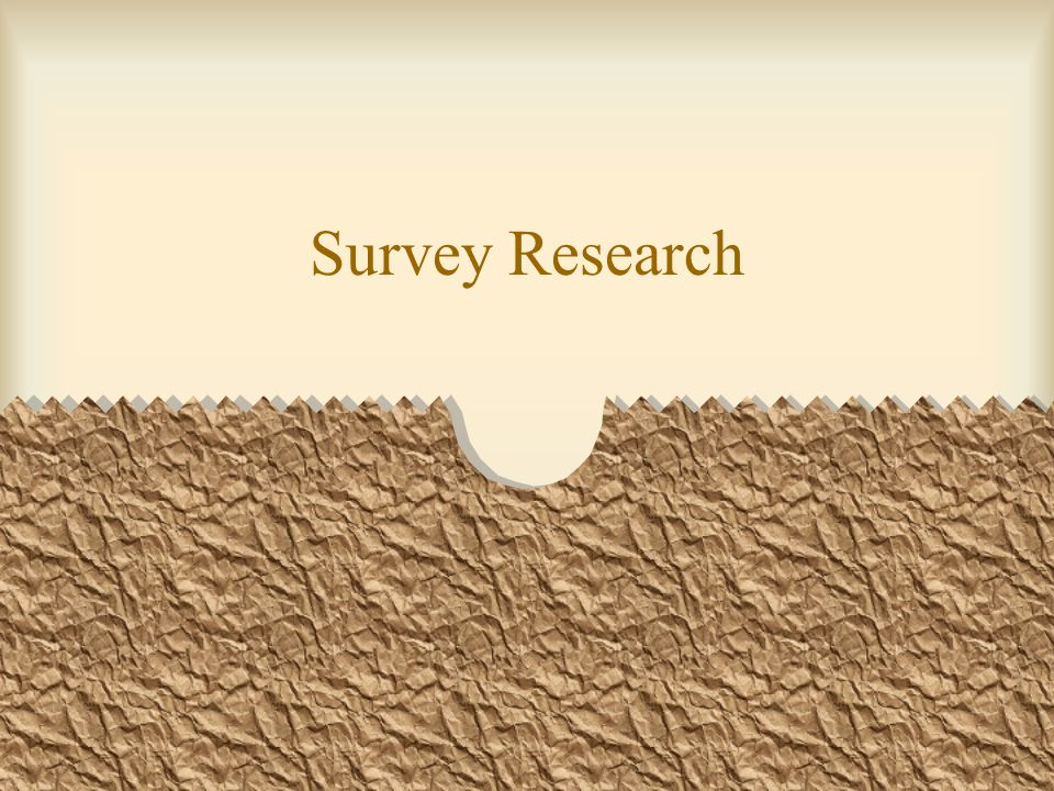 Survey data Survey data are obtained when individuals respond to questions asked by interviewers or when the individual responds to questions that he has read Quantitative and qualitative information Census or sample?