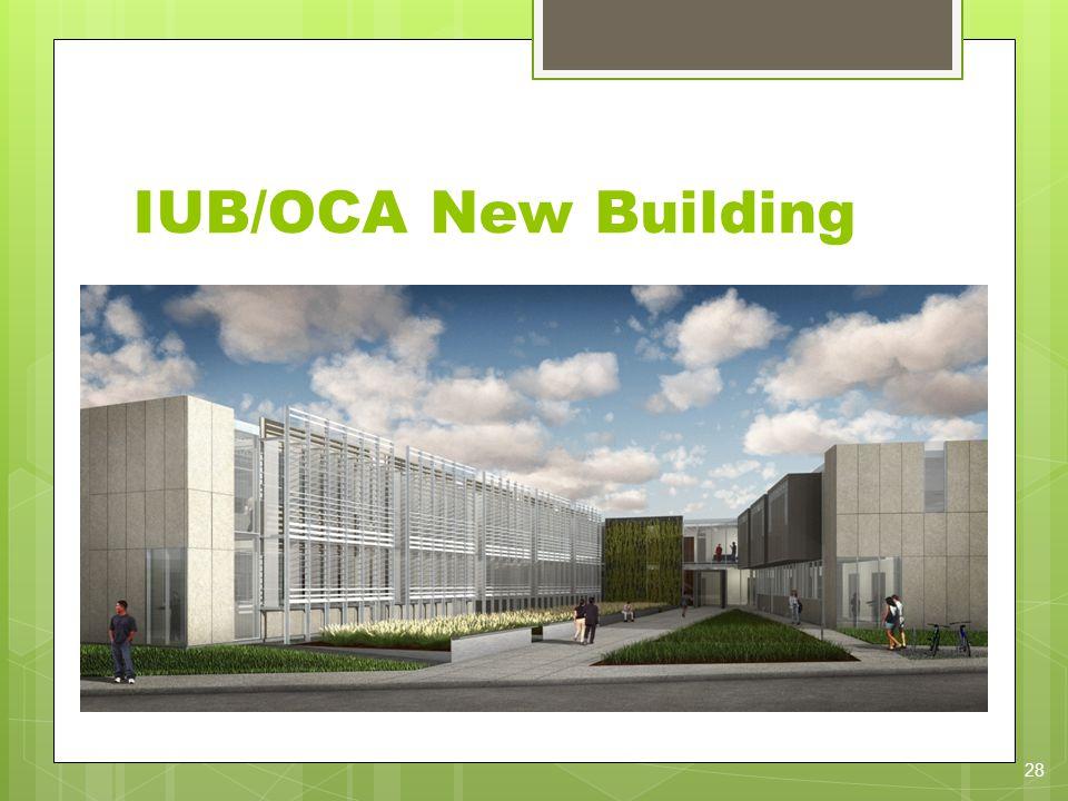 IUB/OCA New Building 28
