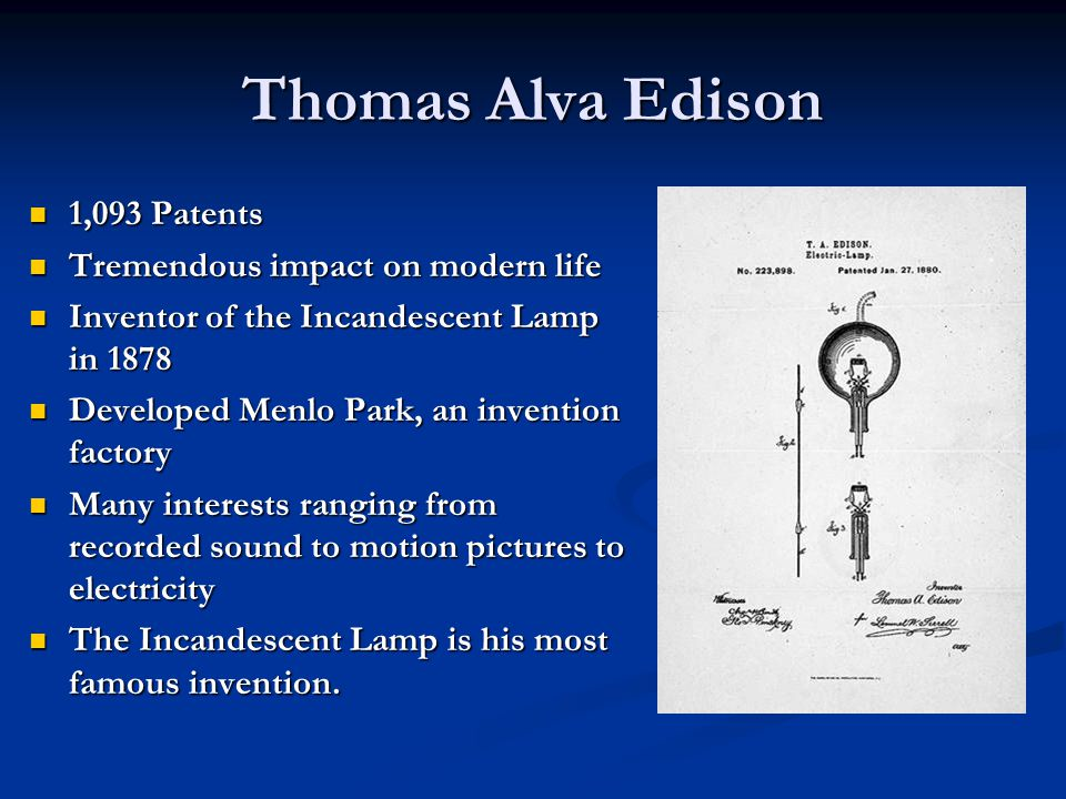 Edison and Ford Great Minds Think Alike Henry Ford and Thomas Edison friends, colleagues, and business partners.