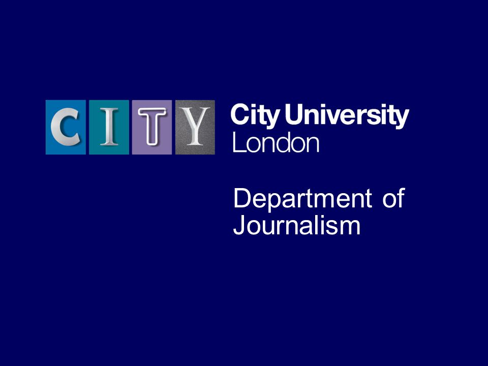 The University for business and the professions Department of Journalism