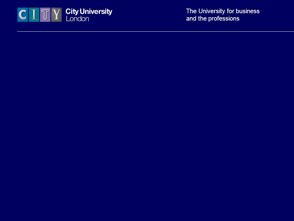 The University for business and the professions