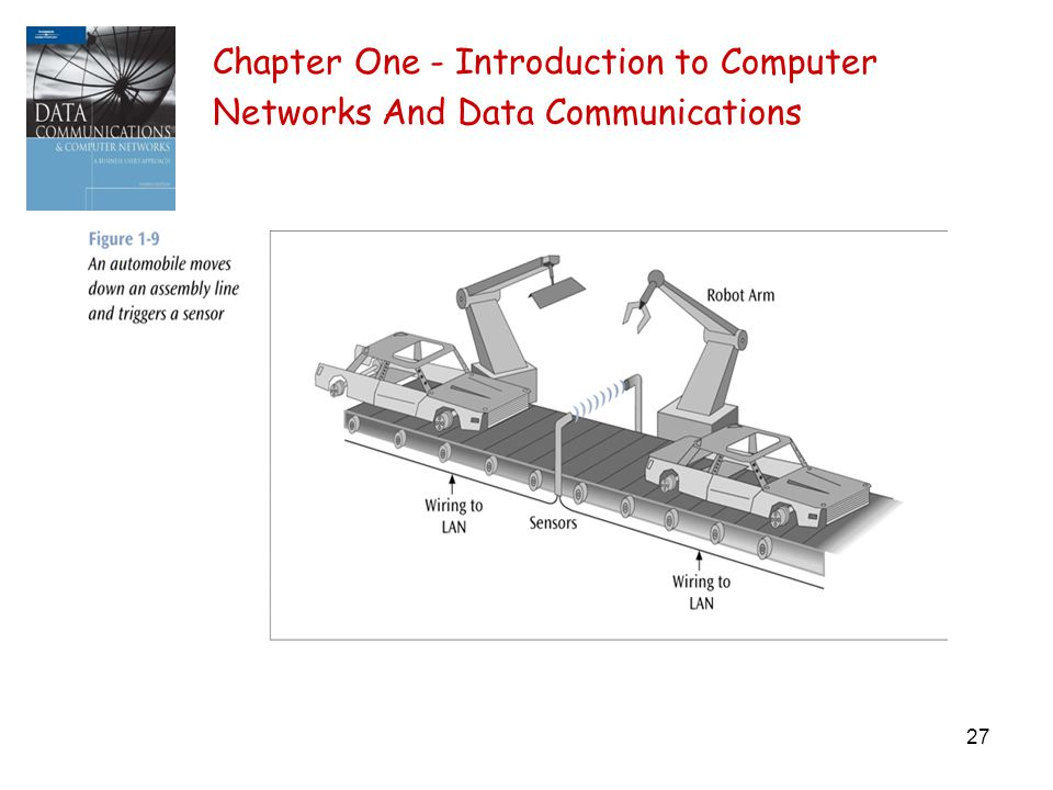 27 Chapter One - Introduction to Computer Networks And Data Communications