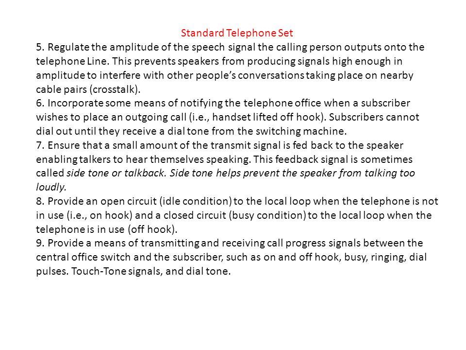 Standard Telephone Set 5.