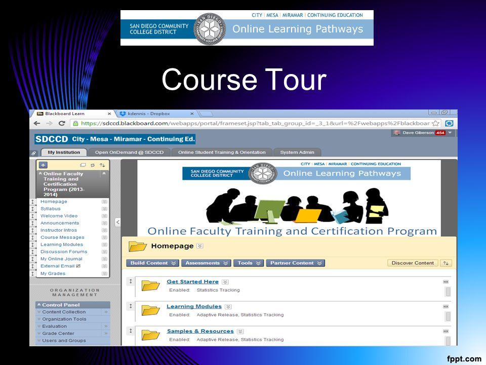 Course Tour